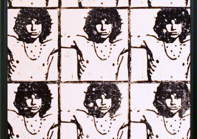 Kunstdruck 12 x Jim Morrison