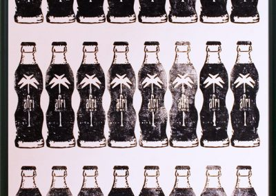 Kunstdruck 24 x Afri-Cola | 70 x 100 cm | 2009 by Andy Mock