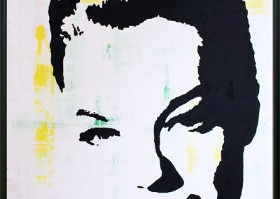 Romy Schneider | Öl auf Acryl auf Leinwand | 80 x 100 cm | 2007 by Andy Mock