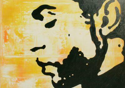 Prince | Acryl auf Leinwand | 60 x 60 cm | 2004 by Andy Mock