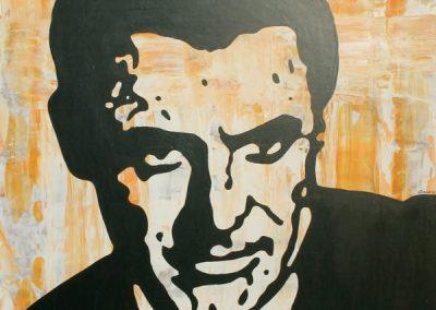 Cary Grant | Acryl auf MDF | 60 x 80 cm | 2002 by Andy Mock