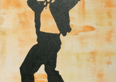 Elvis | Acryl auf MDF | 60 x 80 cm | 2004 by Andy Mock