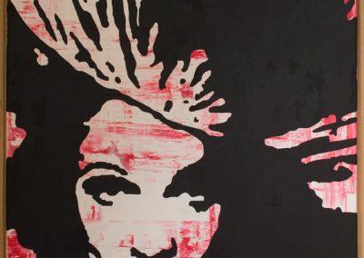 Marlene Dietrich | Öl auf Acryl auf Leinwand | 80 x 100 cm | 2007 by Andy Mock