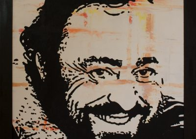 Painting_oil-acryl-mdf_Luciano-Pavarotti_81x78-cm_painted-2008_Andy-Mock_digital-and-art